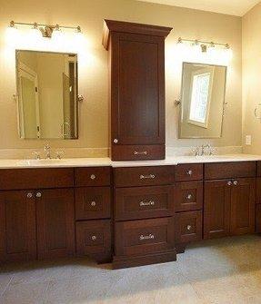 Bathroom storage tower cabinet foter for Bathroom vanity storage tower