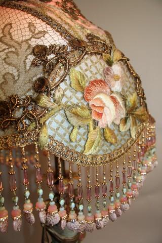 Marvelous Beaded Glass Lamp Shades