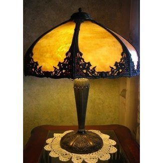 Bradley and hubbard lamps