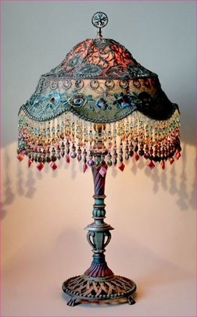 Victorian beaded lamp shades foter cheap victorian lamp shades mozeypictures Gallery