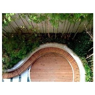 Curved garden benches 11