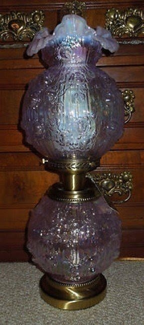 Antique Hurricane Style Glass Lamps Ideas On Foter