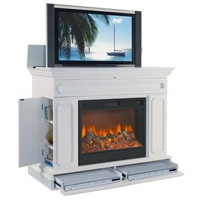 Electric Fireplace With Tv Lift Foter