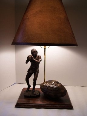 Football helmet lamp