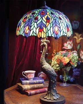 Peacock Tiffany Lamp Foter