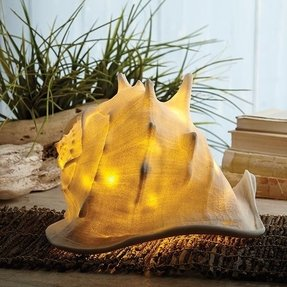 Indoor/Outdoor Decorative Seashell Led Lamp