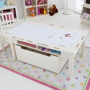 children s table with storage activity table with storage foter 14813