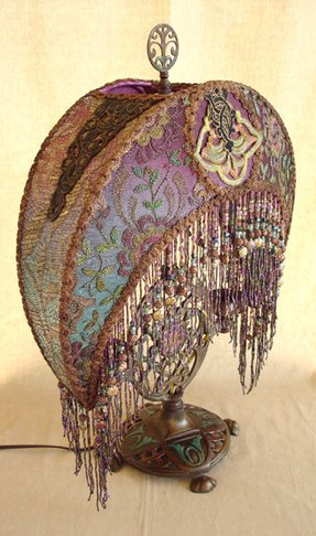 Victorian beaded lamp shades foter lamp shades with beads aloadofball Gallery