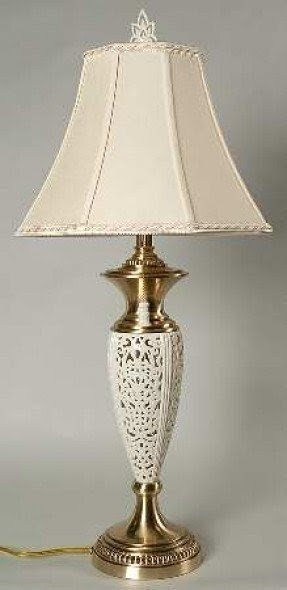 Lenox table lamp foter replaced the lacein a rigid form the ivory that surrounds this stylish lamp lenox table lamp are always made of good quality materialsthe base has a gold aloadofball Images