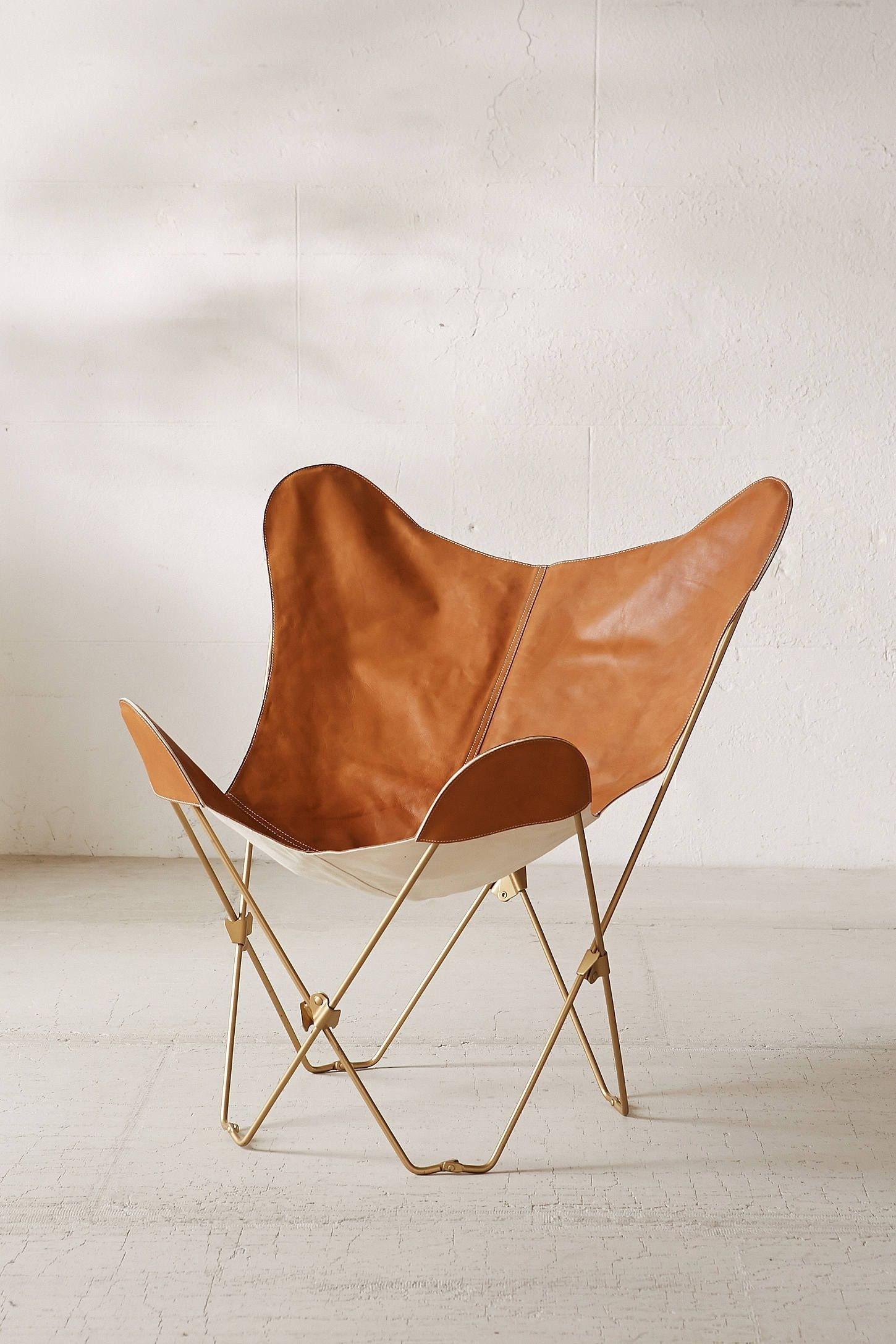 Metal Leather Chair