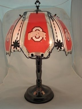 "NEW Ohio State Buckeyes 24"" 6 Panel Touch Lamp NIB NR 1632C-OH"