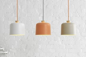 Orange pendant lamp 2