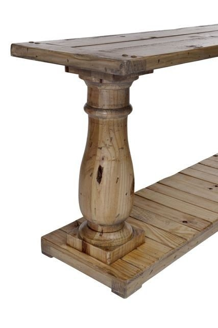 Charmant Pedestal Console Table 3