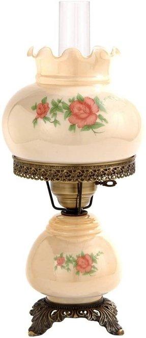 Victorian Hurricane Lamp Foter