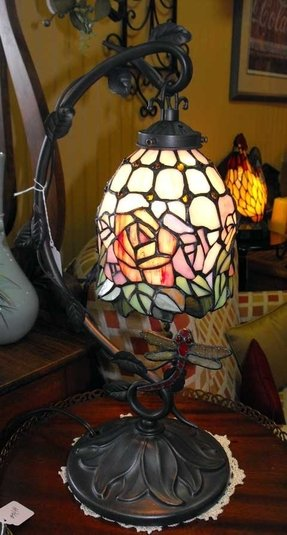 Tiffany Rooster Lamp Foter