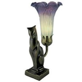 Tiffany Style Cat Lamp Foter