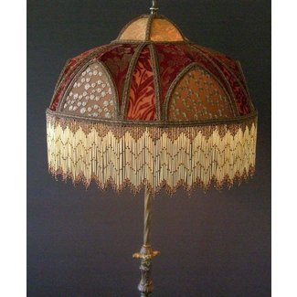 Victorian beaded lamp shades foter victorian beaded lamp shades 1 aloadofball Gallery
