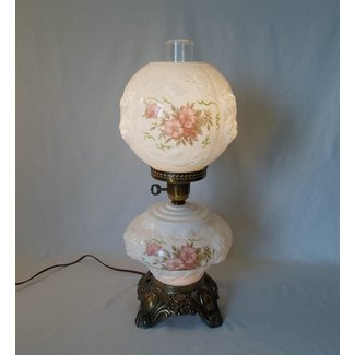 Antique Hurricane Style Glass Lamps Foter