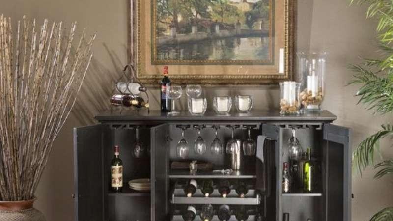 Wine cooler bar cabinet 7 & Wine Cooler Bar Cabinet - Foter