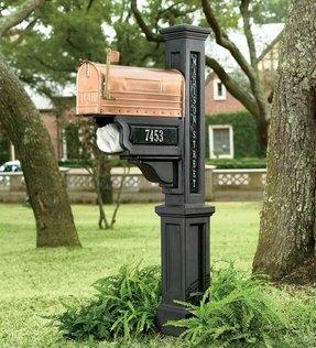Aluminum Mailbox Posts Foter