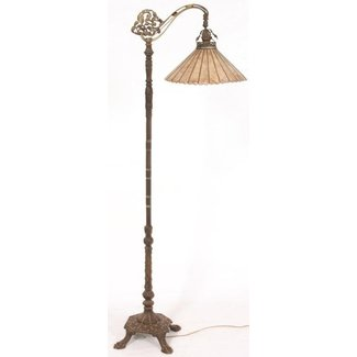Antique bridge lamps