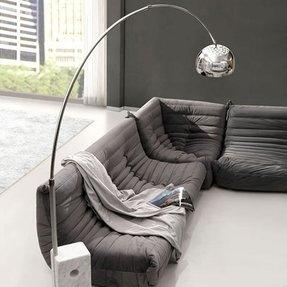 Wondrous Arch Sofa Floor Lamp Ideas On Foter Download Free Architecture Designs Jebrpmadebymaigaardcom