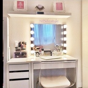 Bathroom Vanities With Makeup Desk