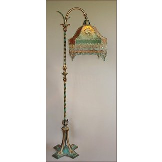 Antique bridge lamps foter bridge lamp shade aloadofball Image collections