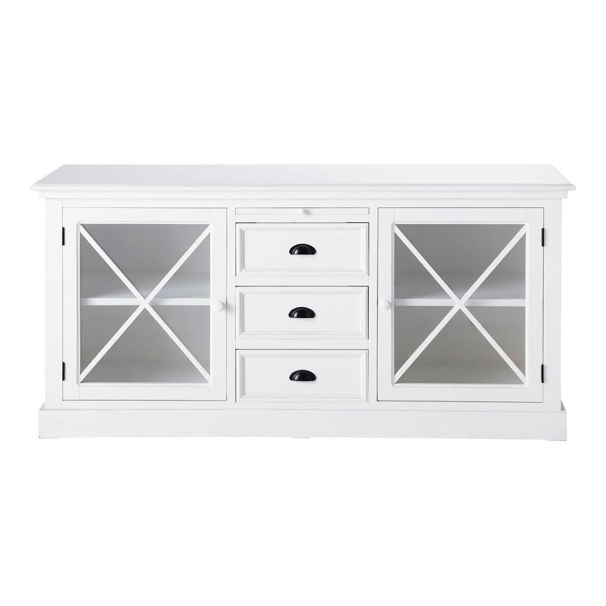 sideboards and buffets with glass doors shapeyourminds com rh shapeyourminds com Buffet Console Table with Glass Doors Buffet Server with Glass Doors