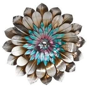 Cape craftsmen bohemian rhapsody metal flower wall decor 2