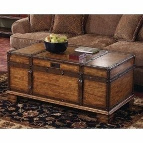 Coffee table trunks chests 21