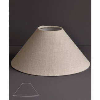Coolie style lamp shades