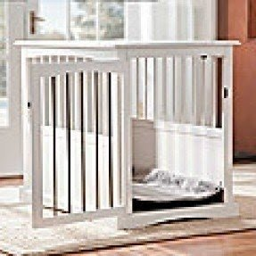 End table crate for dogs