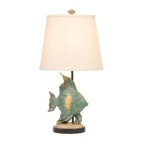Fish table lamp 24