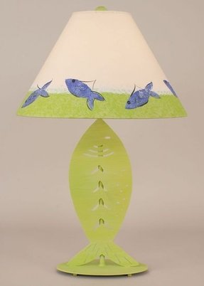 Fish table lamp foter fish table lamp 33 aloadofball Image collections