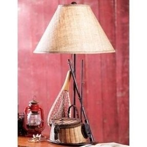 Fish table lamp 34