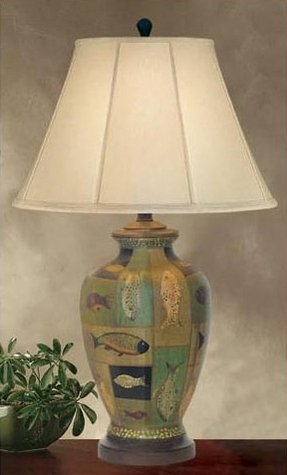 Fish table lamp 46