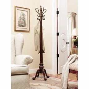Hall tree coat rack 1