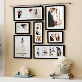 Hanging photo collage frames 1