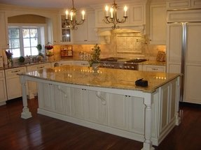 Kitchen Island With Granite Countertop Foter