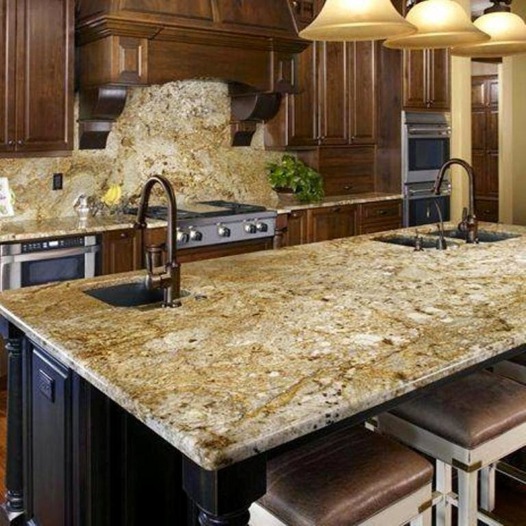 Merveilleux Kitchen Island With Granite Countertop 13