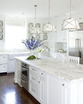 Kitchen island with granite countertop 5