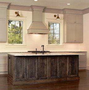 Kitchen island with granite countertop 9