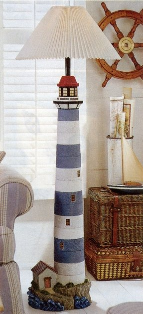 Lighthouse floor lamp 2