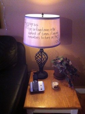 Harry Potter Lamp Foter