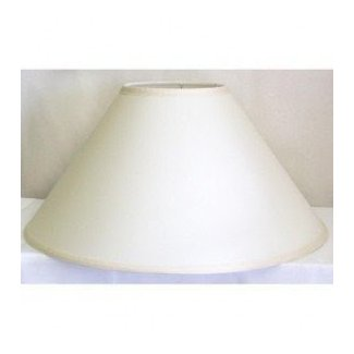 Off white coolie lamp shade 1