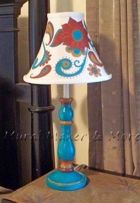 Paisley lamp shade foter paisley lamp shade 16 aloadofball Gallery