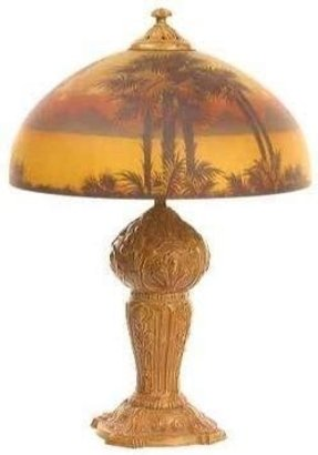 Palm tree table lamp 10