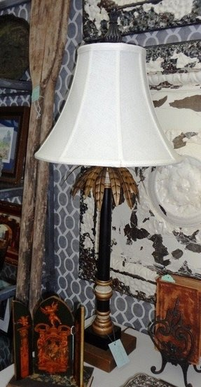 Palm tree table lamp foter palm tree table lamp 21 aloadofball Image collections