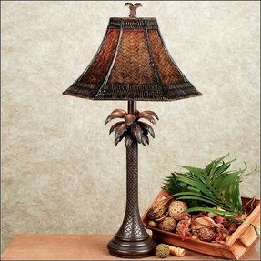 Palm tree table lamp 3